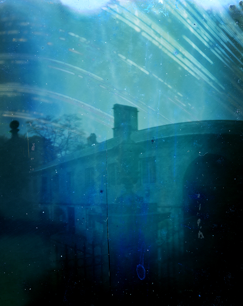 6 month exposure of gateway, Dyrham Park. National Trust