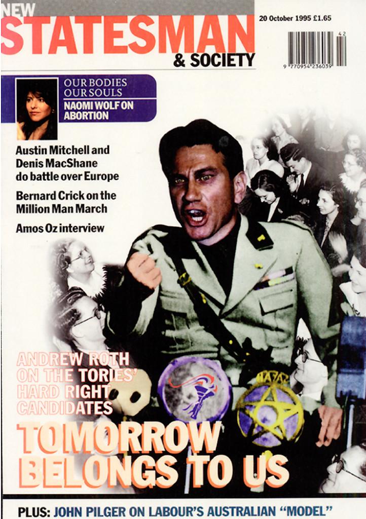 New Statesman cover Michael Portillo