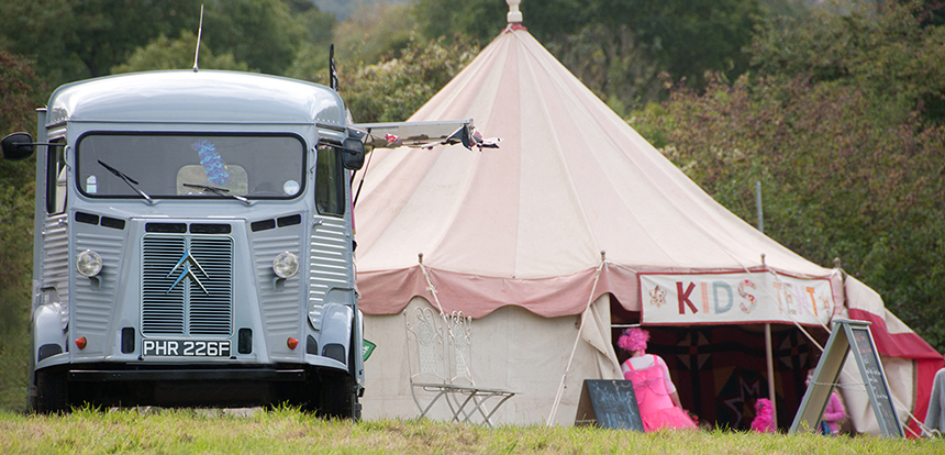 Ice Cream Events 1968 Citroen van