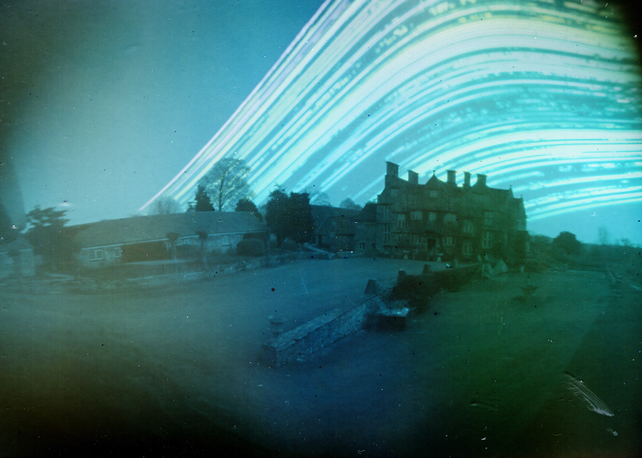 6 month pinhole photograph, Cheney Court