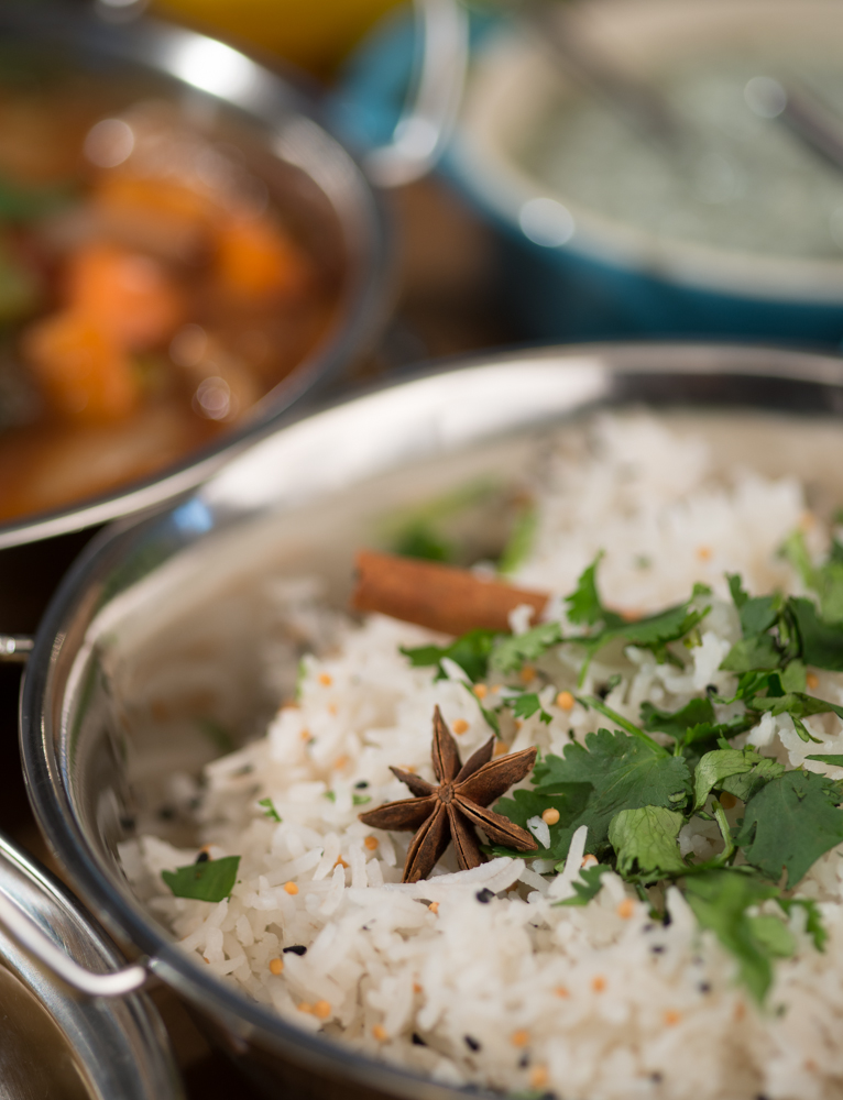 Curry photography for Kirstie's Kitchen