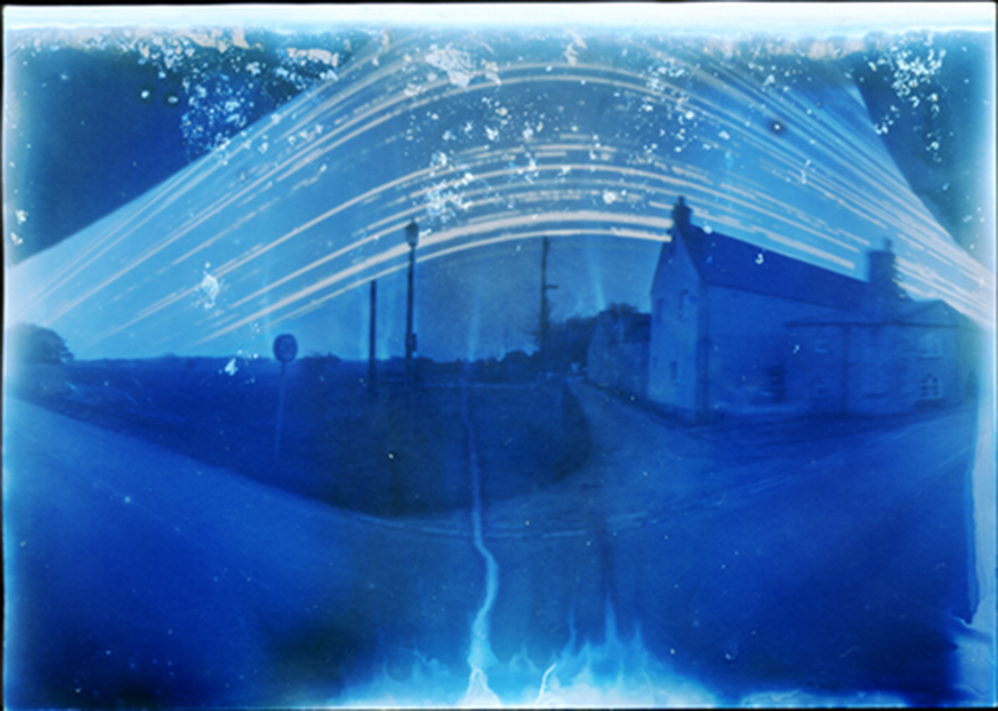 6 month pinhole photograph, Marshfield