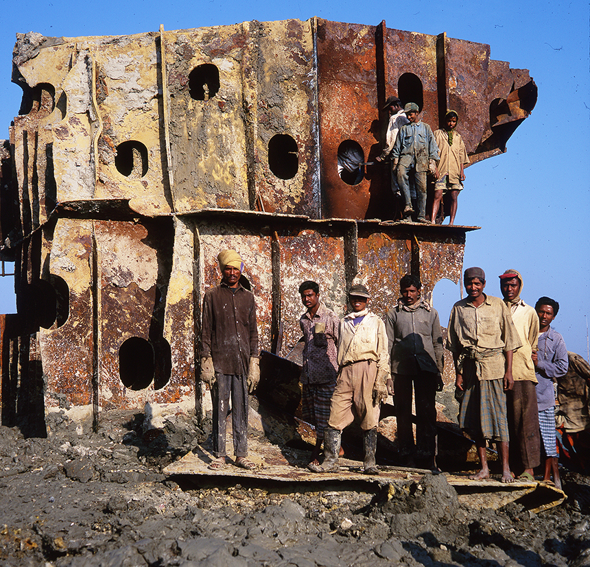 Ship breakers, Bangladesh