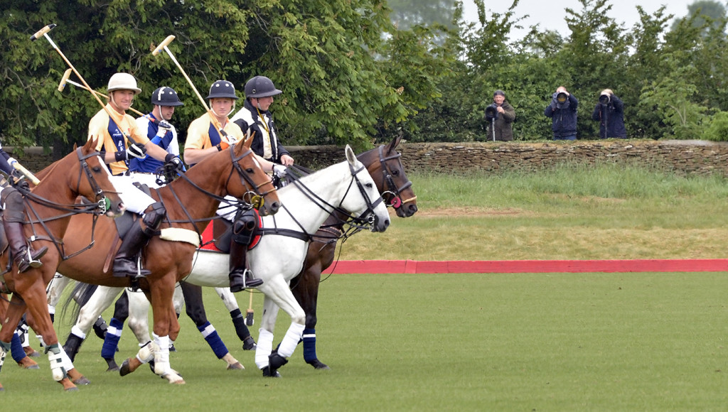 Prince William and Prince Harry and the Paparazzi at Polo