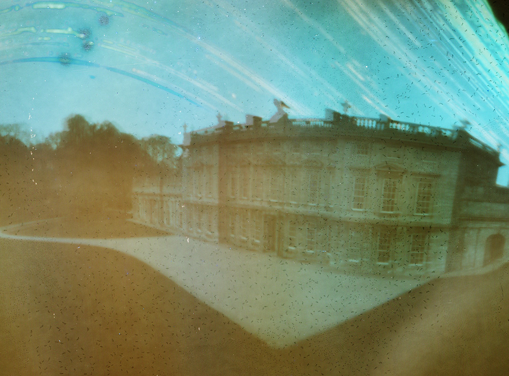 6 month pinhole picture at Dyrham Park.