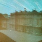 Pinhole image Dyrham Park