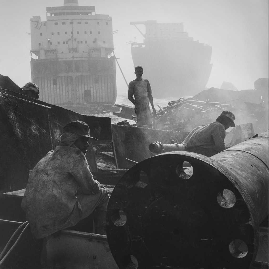 Ship breakers, Chittagong, Bangladesh