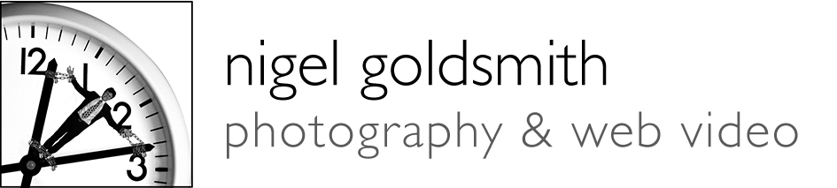 Nigel Goldsmith photography and video art