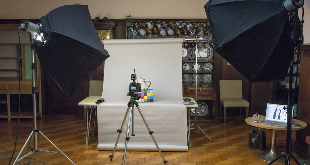 Carmarthen Museum - temporary studio