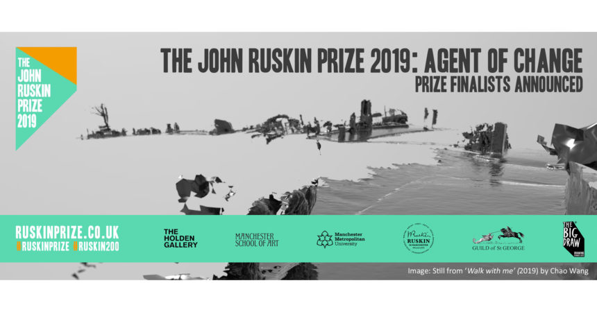 John Ruskin Prize 2019 - made it to shortlist